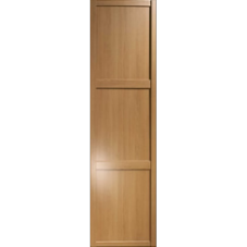 "Shaker Sliding Wardrobe Door 610mm (24"") Windsor Oak Panel Door"